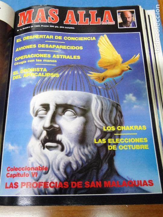 Coleccionismo de Revista Más Allá: UNA CARPETA CONTENIENDO LOS 12 PRIMEROS NÚMEROS 1ª EDICION,AÑO1989 - Foto 8 - 107506147