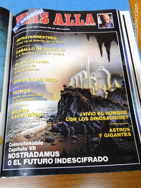 Coleccionismo de Revista Más Allá: UNA CARPETA CONTENIENDO LOS 12 PRIMEROS NÚMEROS 1ª EDICION,AÑO1989 - Foto 9 - 107506147