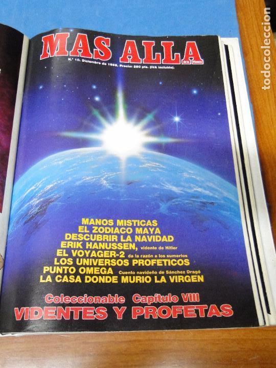 Coleccionismo de Revista Más Allá: UNA CARPETA CONTENIENDO LOS 12 PRIMEROS NÚMEROS 1ª EDICION,AÑO1989 - Foto 10 - 107506147