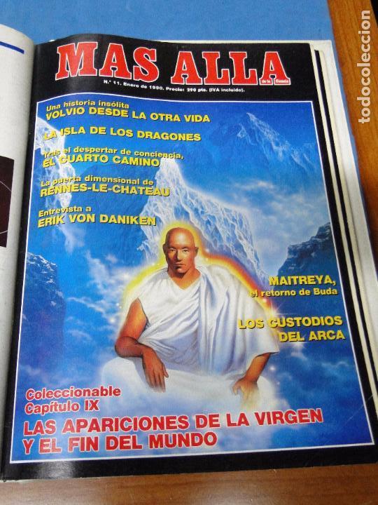 Coleccionismo de Revista Más Allá: UNA CARPETA CONTENIENDO LOS 12 PRIMEROS NÚMEROS 1ª EDICION,AÑO1989 - Foto 11 - 107506147