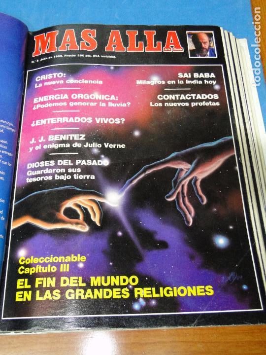 Coleccionismo de Revista Más Allá: UNA CARPETA CONTENIENDO LOS 12 PRIMEROS NÚMEROS 1ª EDICION,AÑO1989 - Foto 12 - 107506147