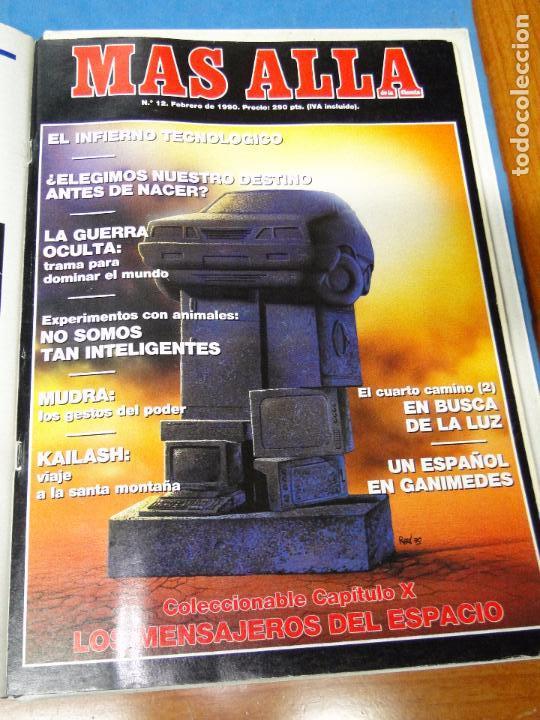 Coleccionismo de Revista Más Allá: UNA CARPETA CONTENIENDO LOS 12 PRIMEROS NÚMEROS 1ª EDICION,AÑO1989 - Foto 13 - 107506147