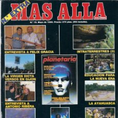 Collezionismo di Rivista Más Allá: VE15- REVISTA DE - MAS ALLA Nº 15 DE 1990 Nº EXTRA . Lote 110517851