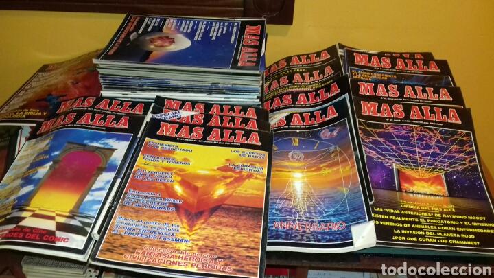 LOTE DE 38 REVISTAS.MAS ALLA.AÑOS 80 Y 90. (Coleccionismo - Revistas y Periódicos Modernos (a partir de 1.940) - Revista Más Allá)