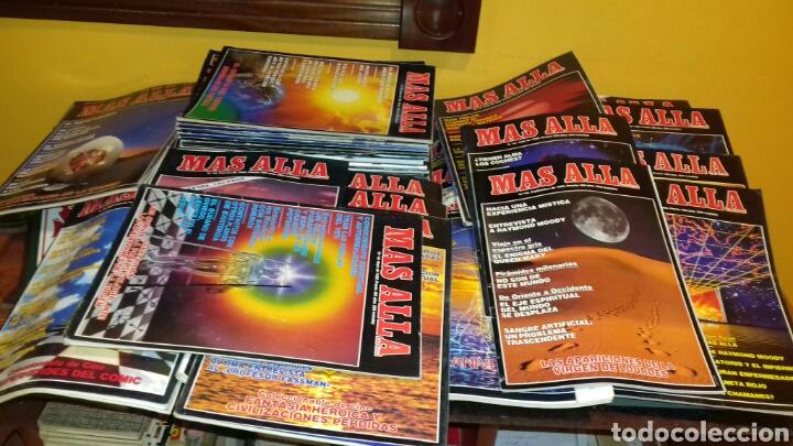 Coleccionismo de Revista Más Allá: Lote de 38 revistas.Mas alla.años 80 y 90. - Foto 2 - 111502146