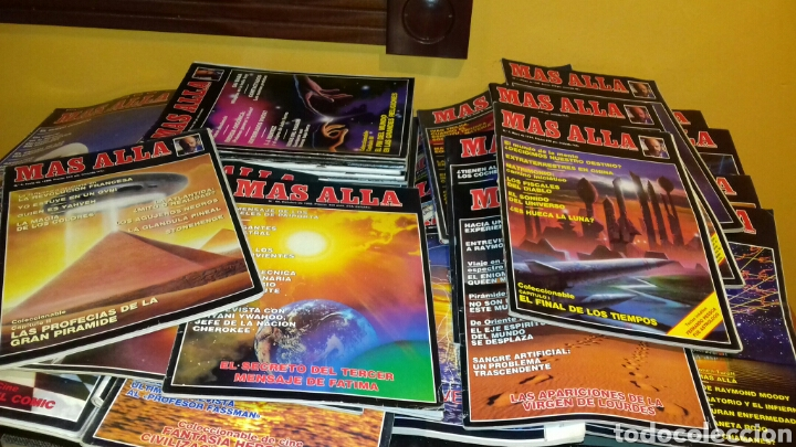 Coleccionismo de Revista Más Allá: Lote de 38 revistas.Mas alla.años 80 y 90. - Foto 3 - 111502146