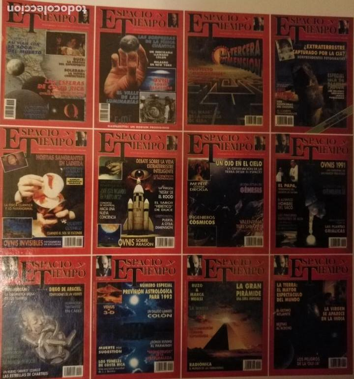 Coleccionismo de Revista Más Allá: REVISTA ESPACIO Y TIEMPO - tomos encuadernados 1 y 2 - marzo 1991 febero 1993 24 primeros nºs ovnis - Foto 5 - 111718655