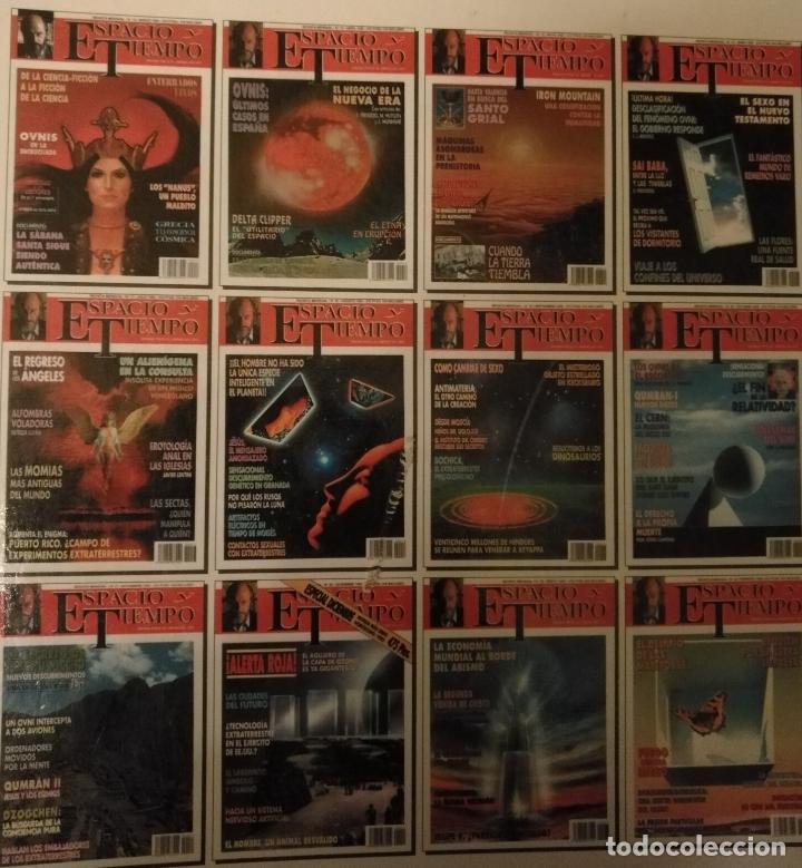 Coleccionismo de Revista Más Allá: REVISTA ESPACIO Y TIEMPO - tomos encuadernados 1 y 2 - marzo 1991 febero 1993 24 primeros nºs ovnis - Foto 6 - 111718655