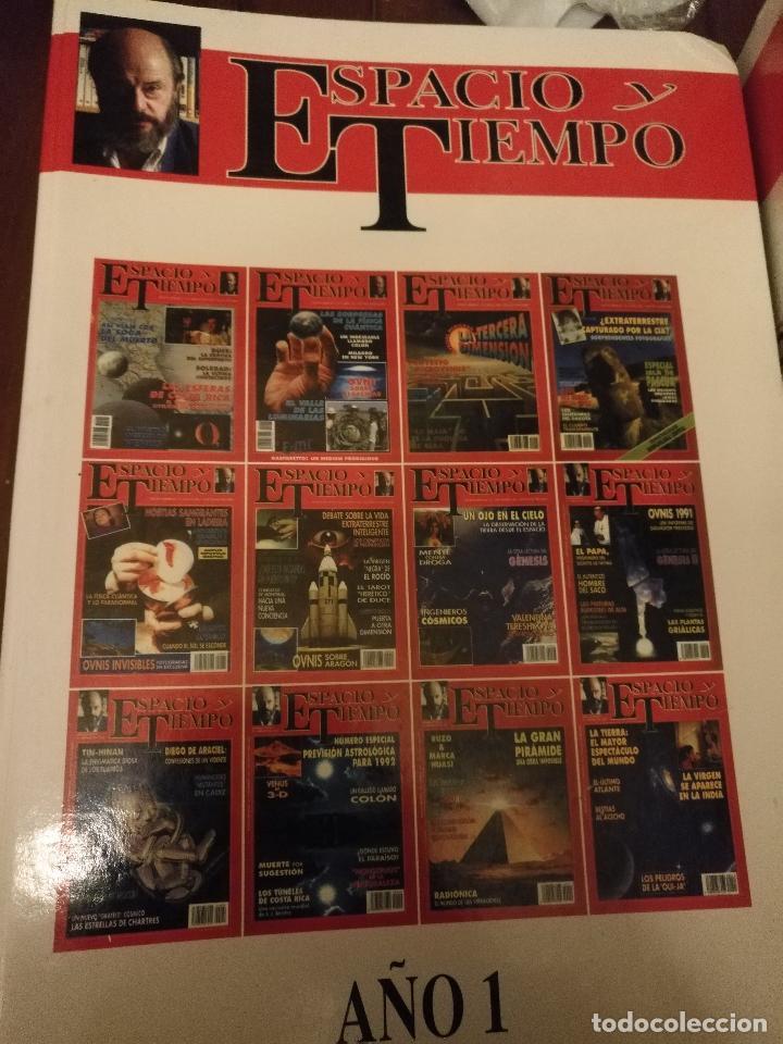 Coleccionismo de Revista Más Allá: REVISTA ESPACIO Y TIEMPO - tomos encuadernados 1 y 2 - marzo 1991 febero 1993 24 primeros nºs ovnis - Foto 14 - 111718655