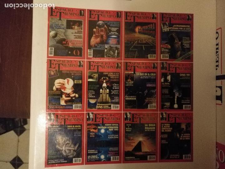 Coleccionismo de Revista Más Allá: REVISTA ESPACIO Y TIEMPO - tomos encuadernados 1 y 2 - marzo 1991 febero 1993 24 primeros nºs ovnis - Foto 4 - 111718655