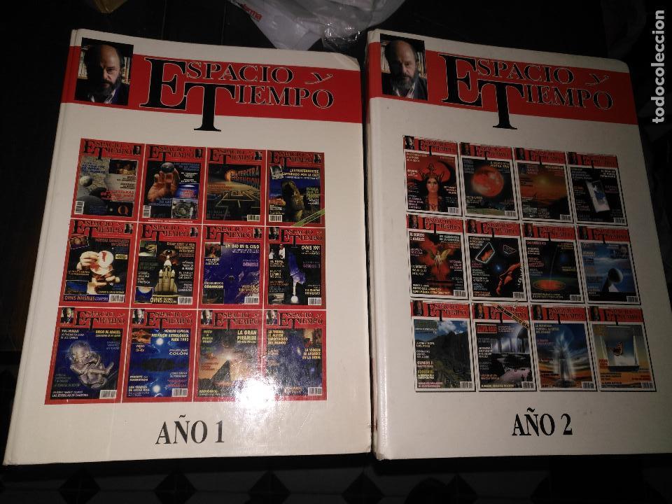 Coleccionismo de Revista Más Allá: REVISTA ESPACIO Y TIEMPO - tomos encuadernados 1 y 2 - marzo 1991 febero 1993 24 primeros nºs ovnis - Foto 3 - 111718655