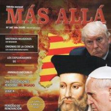 Coleccionismo de Revista Más Allá: MAS ALLA N. 347 - EN PORTADA: LAS PROFECIAS DE NOSTRADAMUS (NUEVA). Lote 113407971