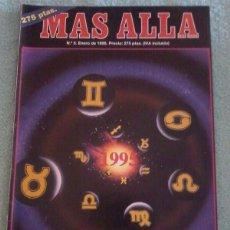 Coleccionismo de Revista Más Allá: MÁS ALLÁ. NÚMERO 5. ENERO DE 1995.. Lote 121775799