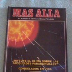 Coleccionismo de Revista Más Allá: MÁS ALLÁ. NÚMERO 60. ENERO DE 1994.. Lote 121777792
