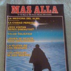 Coleccionismo de Revista Más Allá: MÁS ALLÁ. NÚMERO 63. MAYO DE 1994.. Lote 121778444