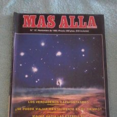 Coleccionismo de Revista Más Allá: MÁS ALLÁ. NÚMERO 5 7. NOVIEMBRE DE 1993.. Lote 121779307