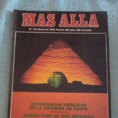 Coleccionismo de Revista Más Allá: MÁS ALLÁ. NÚMERO 5 9. ENERO DE 1994.. Lote 121779891