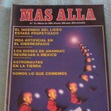 Coleccionismo de Revista Más Allá: MÁS ALLÁ. NÚMERO 61. MARZO DE 1994.. Lote 121780743