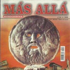Coleccionismo de Revista Más Allá: MÁS ALLÁ MONOGRÁFICO, Nº33,J.C.ED. 2000. MISTERIOS DE ROMA.. Lote 122169755