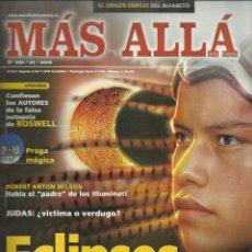 Coleccionismo de Revista Más Allá: MAS ALLA Nº 208, MC ED. 2006. ECLIPSES, DAN BROWN, ROSWELL, ROBERT ANTON WILSON. Lote 122170095