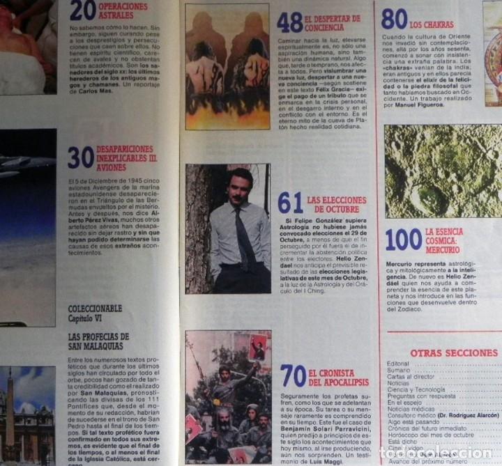 Coleccionismo de Revista Más Allá: MÁS ALLÁ nº 8 1989 REVISTA MISTERIO ESOTERISMO UFOLOGÍA JIMÉNEZ DEL OSO AVIONES DESAPARECIDOS CHAKRA - Foto 2 - 123413423