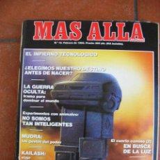 Coleccionismo de Revista Más Allá: REVISTA MAS ALLA Nº 12 FEBRERO 1990. Lote 127886099