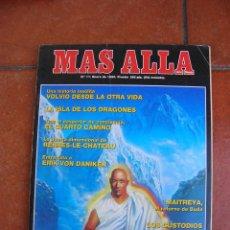 Coleccionismo de Revista Más Allá: REVISTA MAS ALLA: Nº 11; ENERO 1990. Lote 127886287