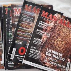 Coleccionismo de Revista Más Allá: LOTE DE 12 REVISTAS MAS ALLÁ. Lote 128158143