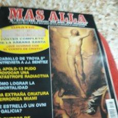 Coleccionismo de Revista Más Allá: REVISTA NÚM. 87 MAS ALLA.-SABANA SANTA POSTER COMPLETO, CABALLO DE TROYA 5, COMO LOGRAR LA INMORTALI. Lote 128300608
