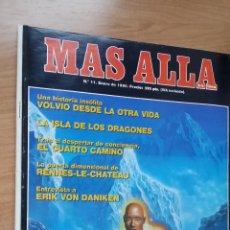 Coleccionismo de Revista Más Allá: MÁS ALLÁ Nº 11 - AÑO 90. Lote 128482771
