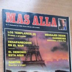 Coleccionismo de Revista Más Allá: MÁS ALLÁ Nº 7 - AÑO 89. Lote 128482943