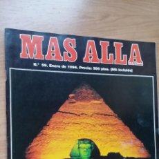 Coleccionismo de Revista Más Allá: MÁS ALLÁ Nº 59 - AÑO 94. Lote 128483131