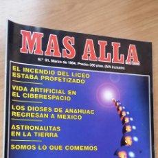 Coleccionismo de Revista Más Allá: MÁS ALLÁ Nº 61 - AÑO 94. Lote 128483883