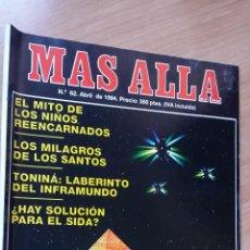 Coleccionismo de Revista Más Allá: MÁS ALLÁ Nº 62 - AÑO 94. Lote 128483935
