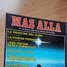 Coleccionismo de Revista Más Allá: MÁS ALLÁ Nº 63 - AÑO 94. Lote 128484011