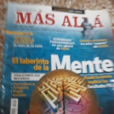Coleccionismo de Revista Más Allá: REVISTA 7/2006 MÁS ALLÁ.LA MENTE.FENOMENOS PARANORMALES. MONTJUÍC MONTAÑA MAGICA. Lote 132556751