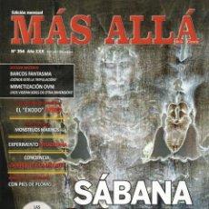 Coleccionismo de Revista Más Allá: MAS ALLA N. 354 - EN PORTADA: SABANA SANTA (NUEVA). Lote 136239174