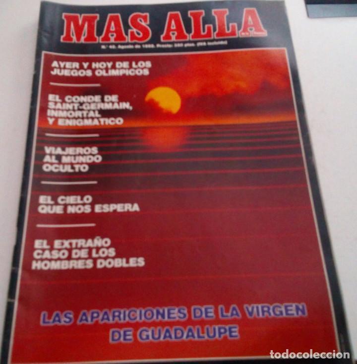 VIRGEN DE GUADALUPE.CONDE DE SAINT GERMAIN.HOMBRES DOBLES..MAS ALLA Nº 42.1992 (Coleccionismo - Revistas y Periódicos Modernos (a partir de 1.940) - Revista Más Allá)