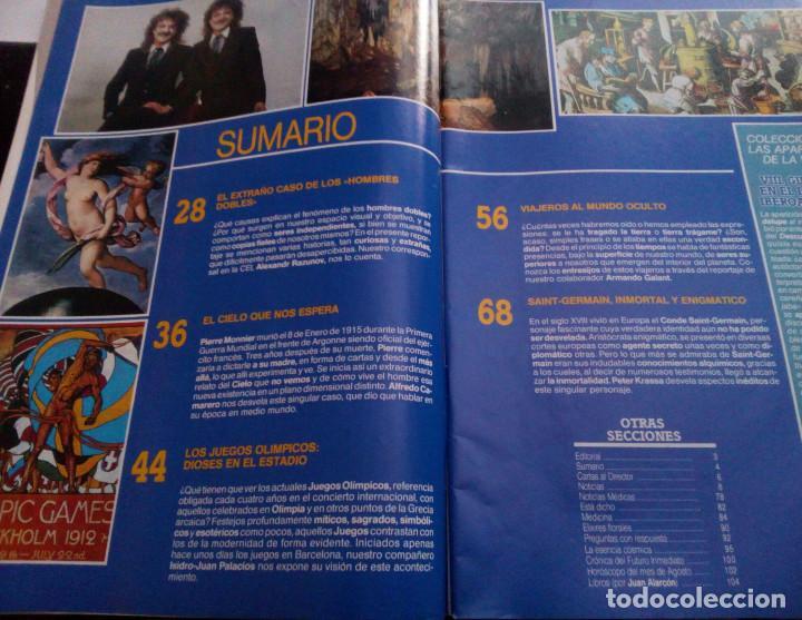 Coleccionismo de Revista Más Allá: VIRGEN DE GUADALUPE.CONDE DE SAINT GERMAIN.HOMBRES DOBLES..MAS ALLA Nº 42.1992 - Foto 2 - 137406770