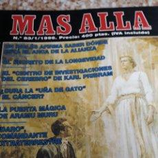 Coleccionismo de Revista Más Allá: REVISTA NÚM. 83 MAS ALLÁ.LA REVELACIÓN DEL ÁNGEL. SECRETO DE LA LONGEVIDAD, CURA CANCER LA UÑA DE G. Lote 143060308