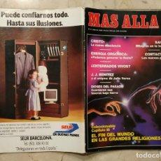 Coleccionismo de Revista Más Allá: REVISTA MÁS ALLÁ Nº 5 - JULIO DE 1989. Lote 143206346