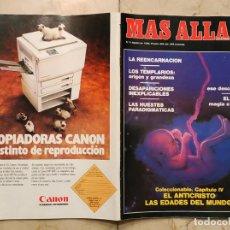 Coleccionismo de Revista Más Allá: REVISTA MÁS ALLÁ Nº 6 - AGOSTO DE 1989. Lote 178885735