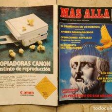 Coleccionismo de Revista Más Allá: REVISTA MÁS ALLÁ - OCTUBRE DE 1989. Lote 143209058