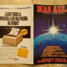 Coleccionismo de Revista Más Allá: REVISTA MÁS ALLÁ Nº 10 - DICIEMBRE DE 1989. Lote 143209690