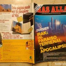 Coleccionismo de Revista Más Allá: REVISTA MÁS ALLÁ Nº 20 - OCTUBRE DE 1990 - Nº EXTRA. Lote 178885765