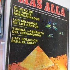 Coleccionismo de Revista Más Allá: MAS ALLA - Nº 62 - 1994. Lote 144498014