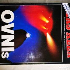 Coleccionismo de Revista Más Allá: REVISTA MÁS ALLÁ. MONOGRÁFICO OVNIS . AÑO 1991. Lote 147786094