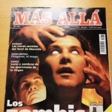 Coleccionismo de Revista Más Allá: REVISTA MÁS ALLÁ Nº 137 (LOS ZOMBIS EXISTEN / JOSTEIN GAARDER / TAROT DE MARSELLA / PITÁGORAS ...). Lote 149002622
