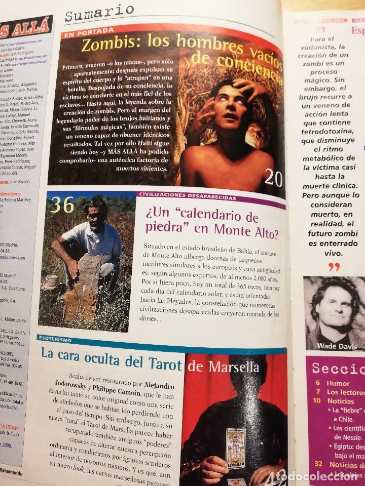 Coleccionismo de Revista Más Allá: REVISTA MÁS ALLÁ Nº 137 (LOS ZOMBIS EXISTEN / JOSTEIN GAARDER / TAROT DE MARSELLA / PITÁGORAS ...) - Foto 2 - 149002622