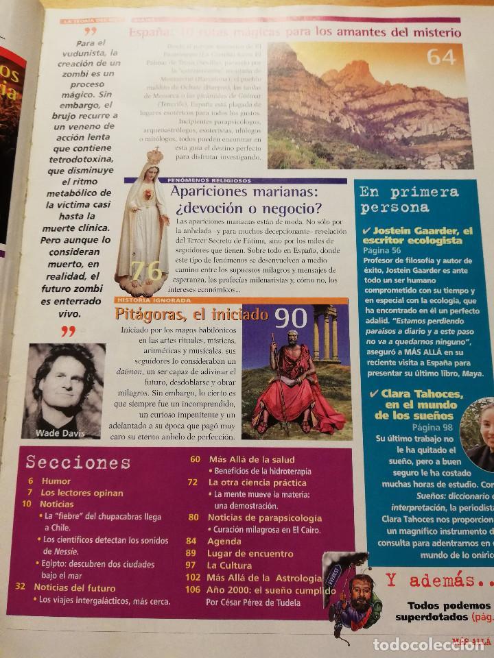 Coleccionismo de Revista Más Allá: REVISTA MÁS ALLÁ Nº 137 (LOS ZOMBIS EXISTEN / JOSTEIN GAARDER / TAROT DE MARSELLA / PITÁGORAS ...) - Foto 3 - 149002622